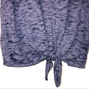 Lucky Brand Tops - Lucky Brand tie front stars tank top size XS EUC